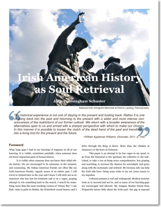 Irish-American History as Soul Retrieval